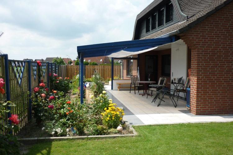 Haus Mühlenblick Terrasse