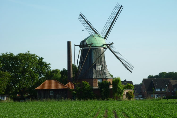 Blick auf Menke Mühle